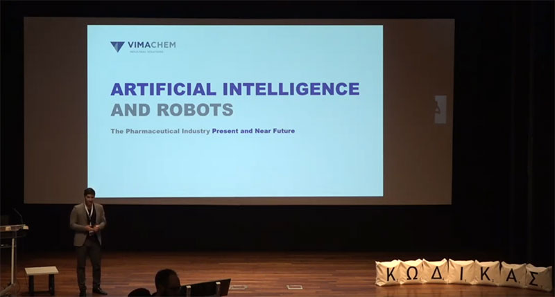 Artificial Intelligence, Robots and Pharma
